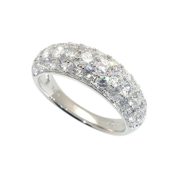 プラチナダイヤモンドリング(パヴェ/2.00ct/プラチナ900)