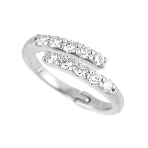 フリーサイズリング(ダイヤモンド/10石/0.5ct/プラチナ)