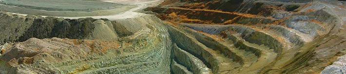 原鉱石の発掘